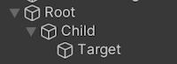Root/Child/Targetと出力したい